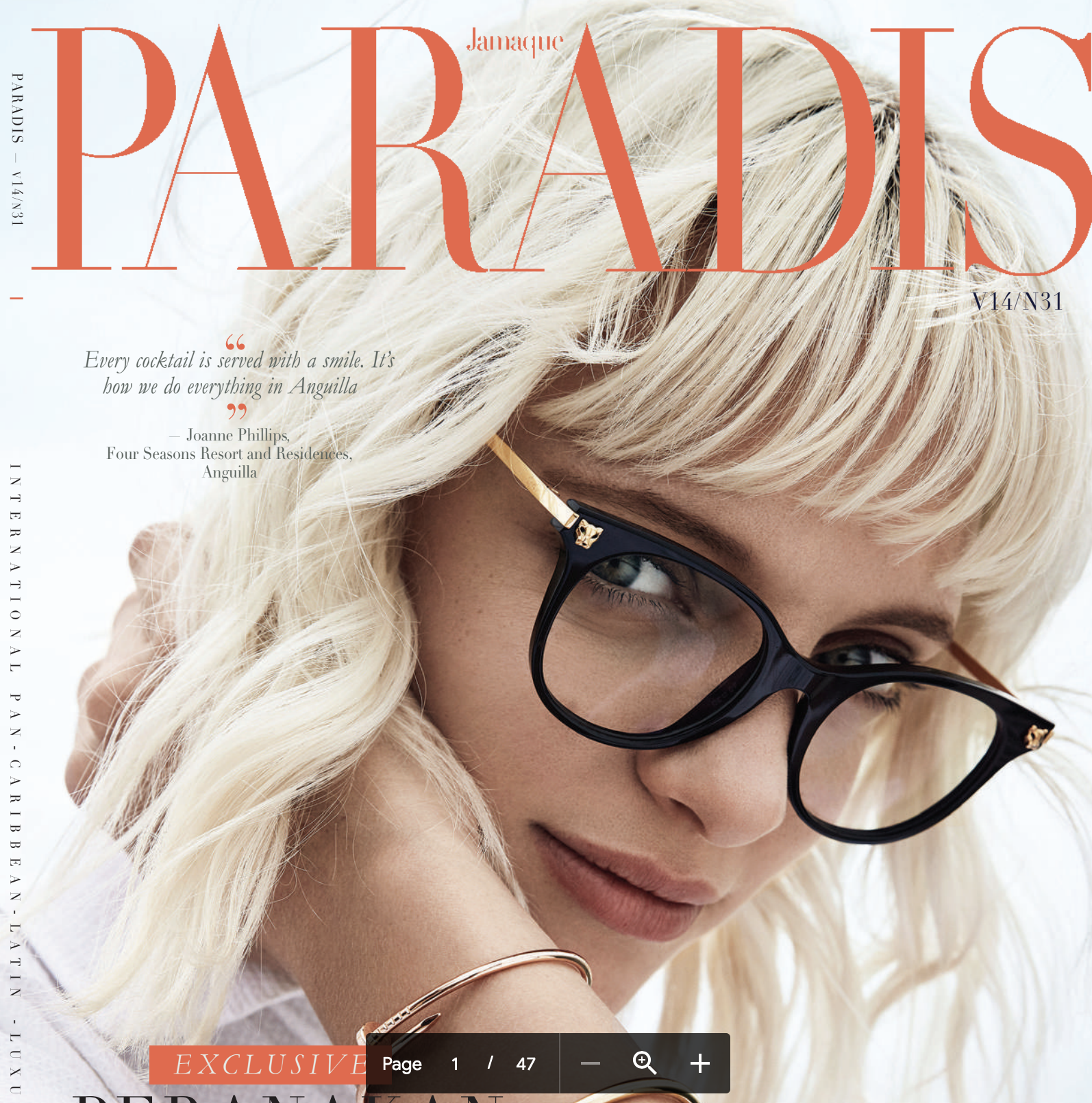 Jamaque Paradis features PREE Writing Studio
